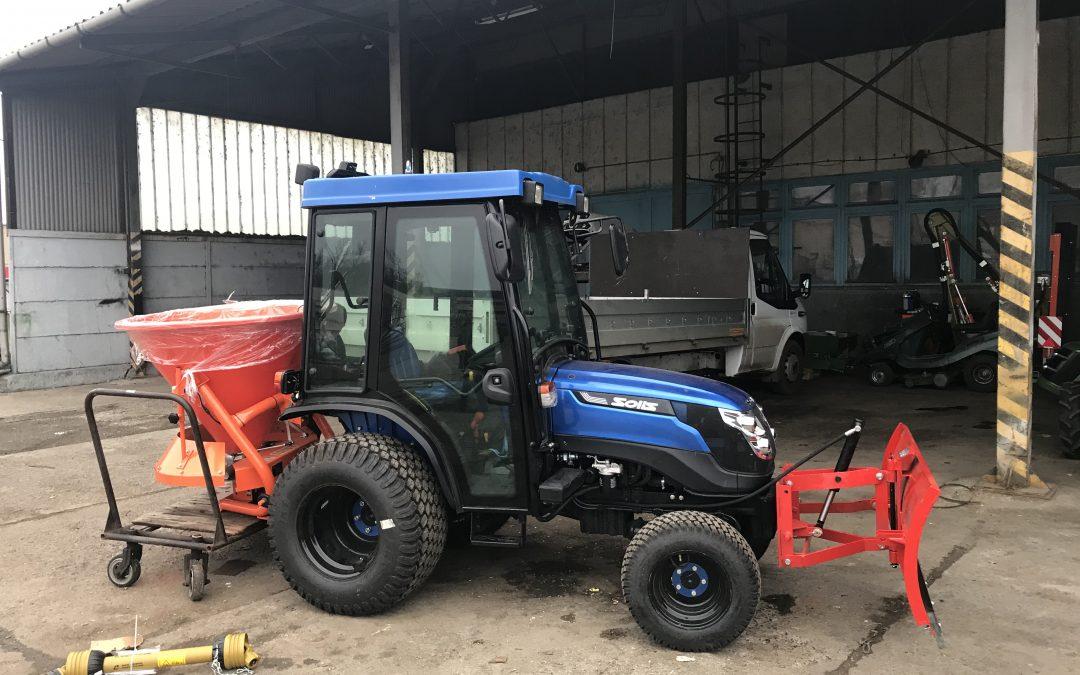 Solis 26 Kis Traktor a Téli Munkákra