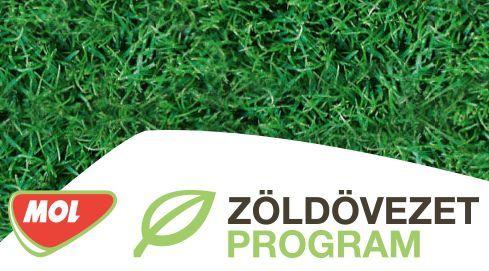 MOL Zöldövezet Program a természet és a közösség felvirágoztatására