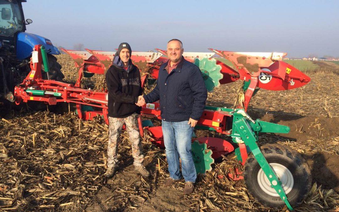 Új gazdára lelt a Kverneland LB 100-300 5 fejes eke