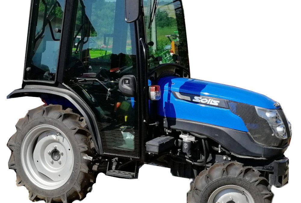 Solis 26 Kis Traktor Fülkével